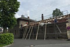 Dachrenovierung Clubheim